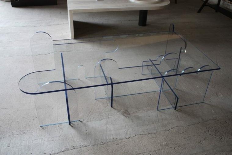 original mesa de vidrio