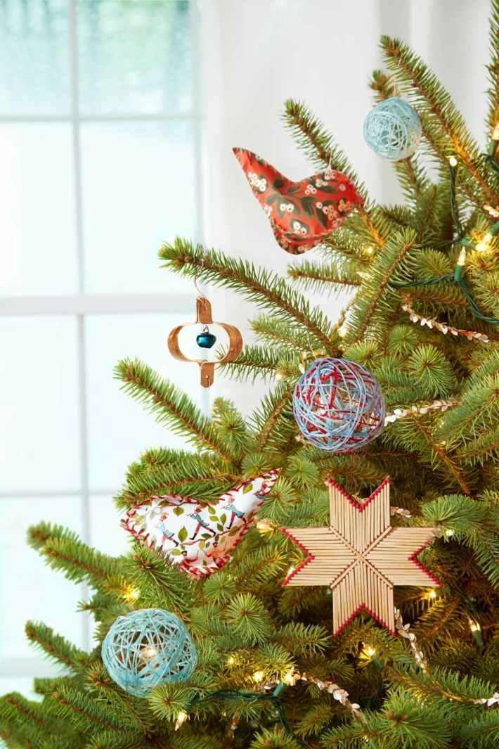 modelos adornos arbol navidad