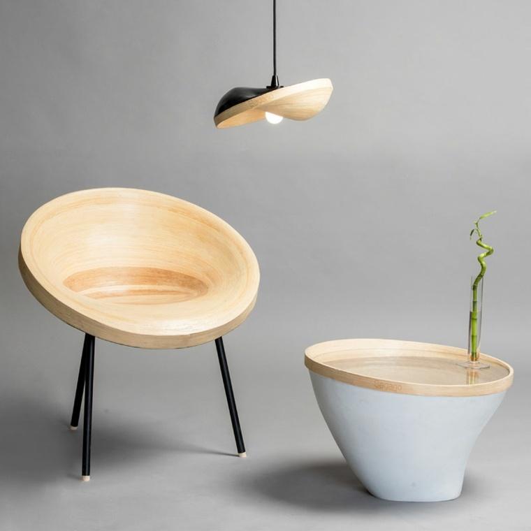 modelos modernos madera clara
