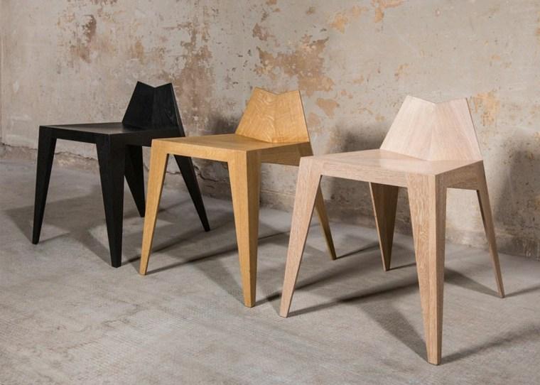 muebles diseño plegables sillas