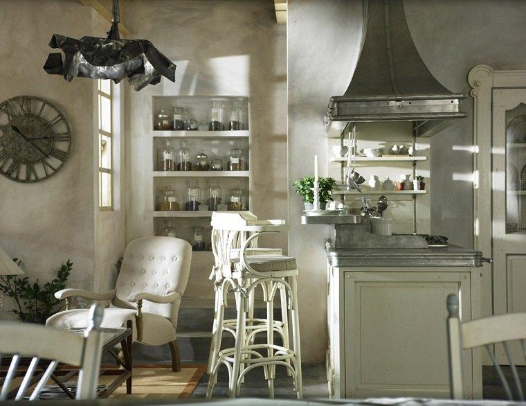 muebles rústicos-cocina-diseno-ideas-campana