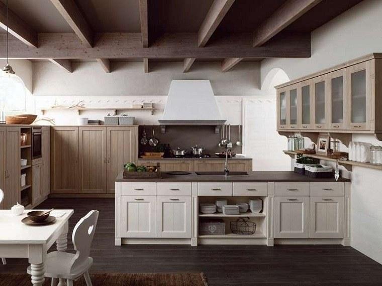 muebles-rusticos-cocina-disenos-estilo-isla
