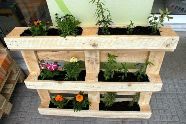 jardineras de palet