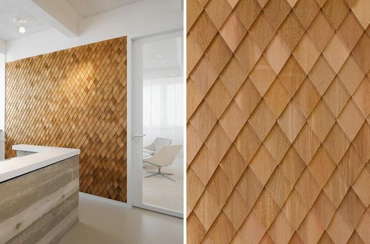 panel diseño madera natural