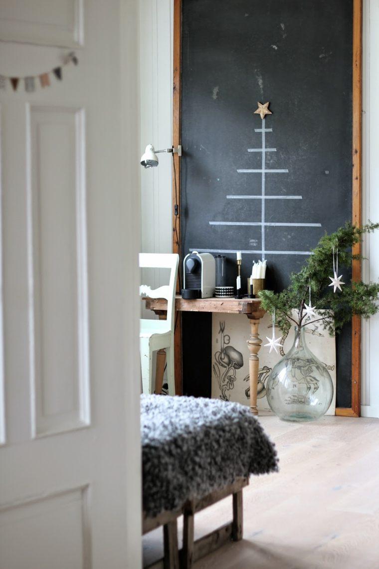 pared-pizarra-decoracion-arbol-navidad
