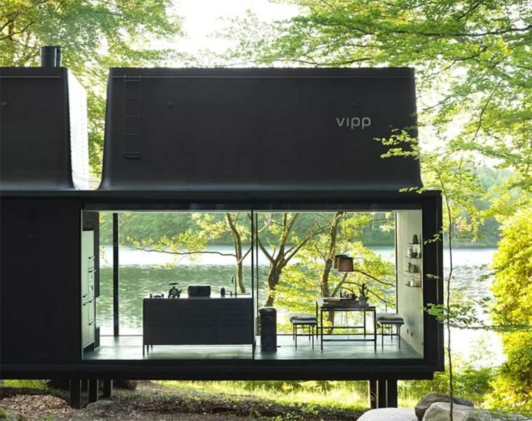 paredes acristaladas vistas exteriores