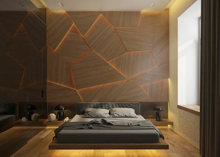 paredes madera suelos claros