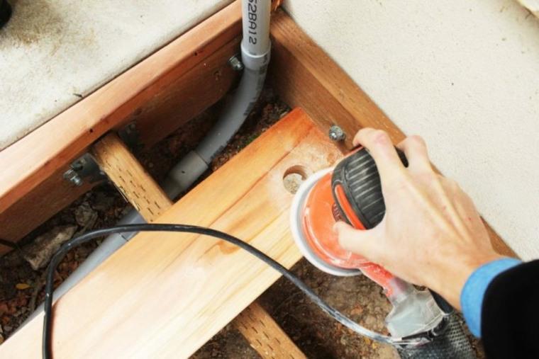 pulir madera