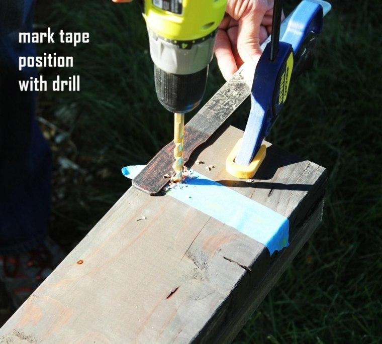 perforaciones maderas exteriores casa