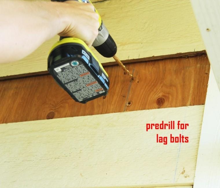 perforando paredes zonas exteriores