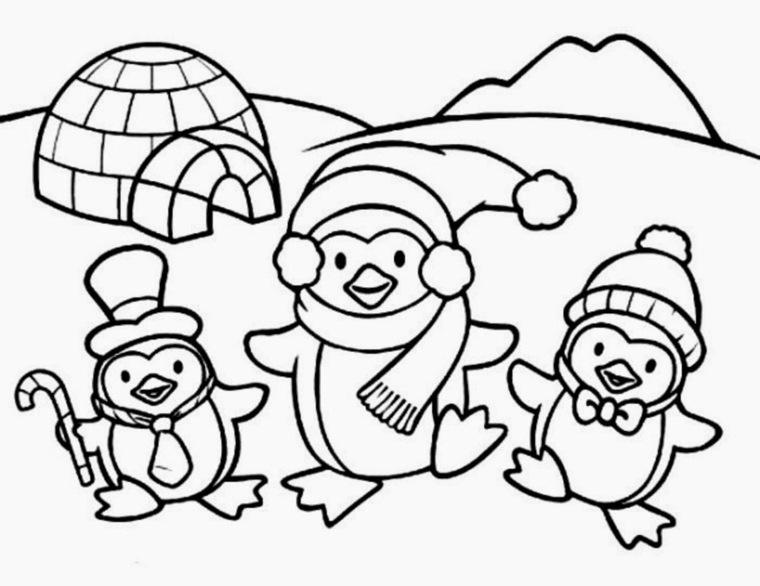 pinguinos-de-Navidad