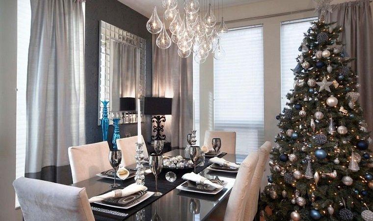estupendas ideas de decoración para el árbol de Navidad