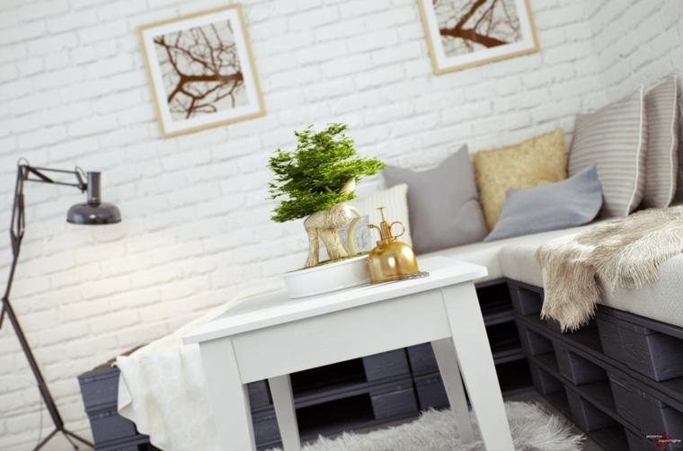 cómo hacer sofás con palets