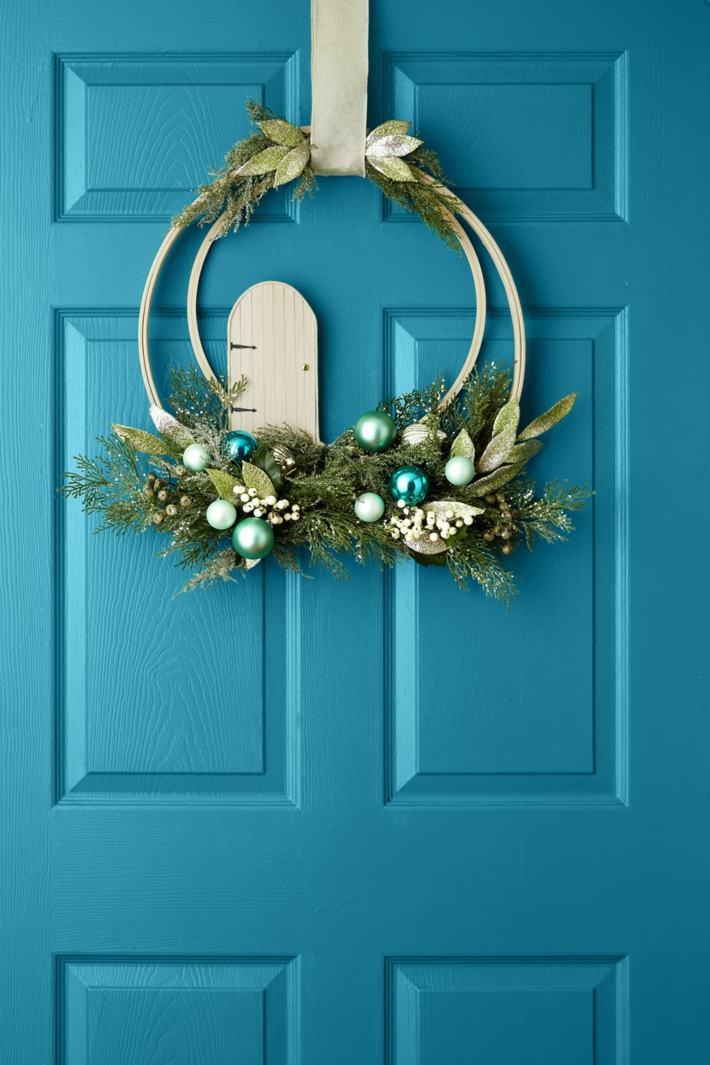 puertas decoradas soluciones modernas