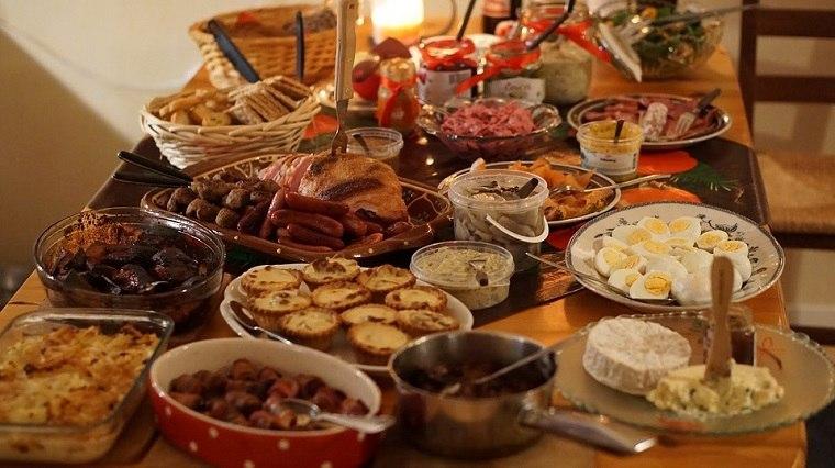 que hacer en navidad-consejos-fiesta-navidena-comida-bufet