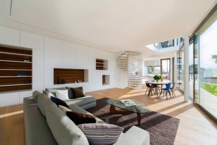salones modernos-casa-Zurich-Suiza-diseno-Evolution-Design