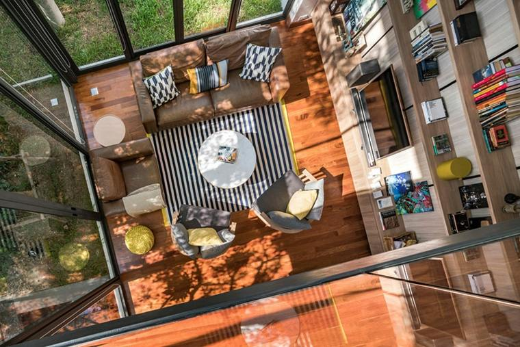 salones-modernos-casa-diseno-Nonthaburi-Tailandia-Anonym-Studios