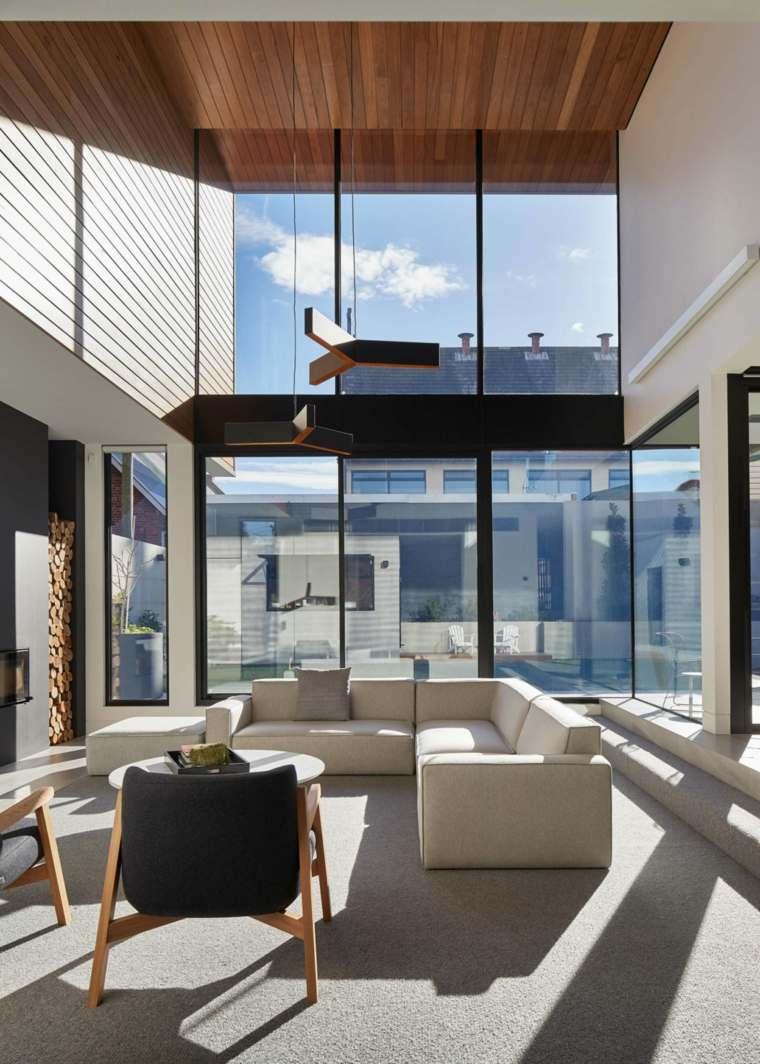 Salones modernos - Nos inspiramos de los mejores diseñadores -