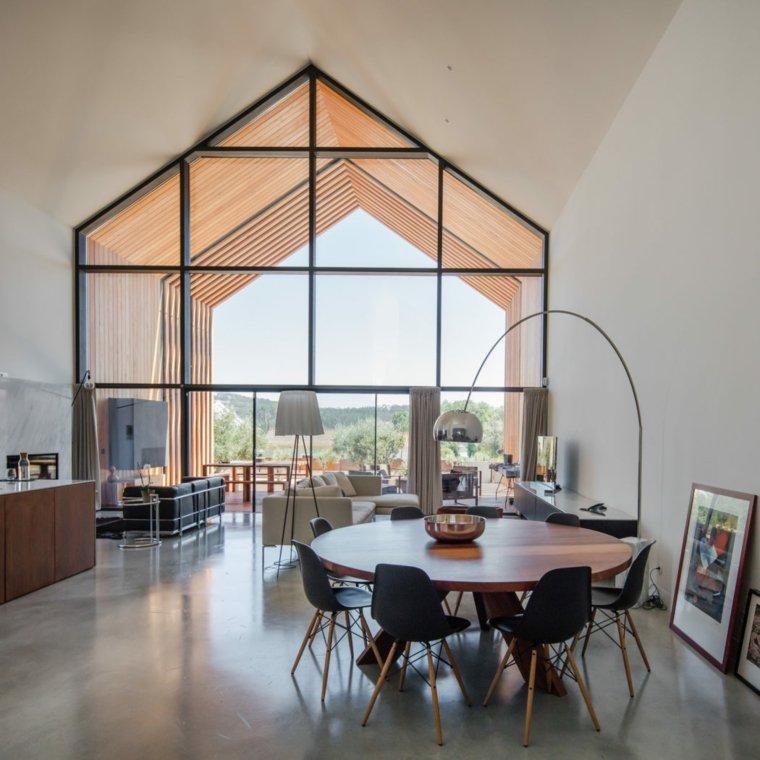 salones modernos-casa-portugal-filipe-saraiva-arquitectos
