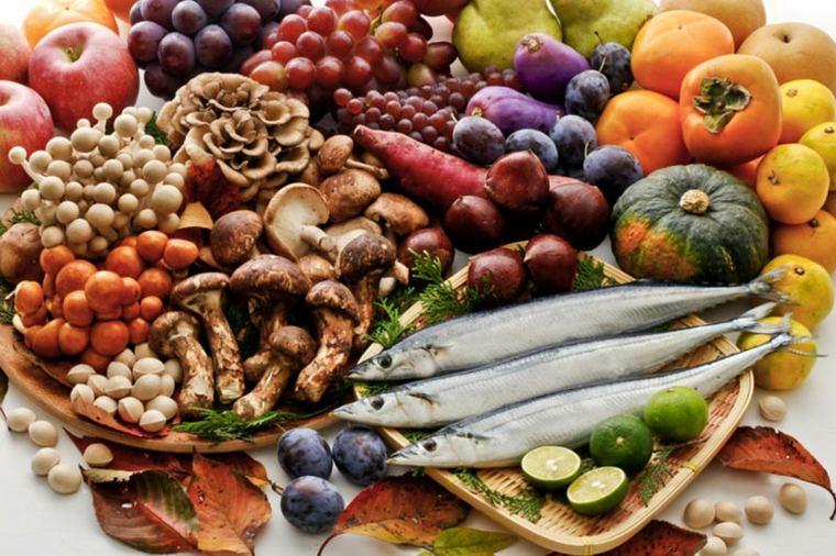 sabrosos productos del Mediterráneo