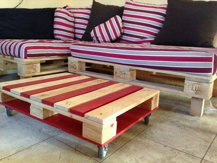 ideas para fabricar muebles de palets