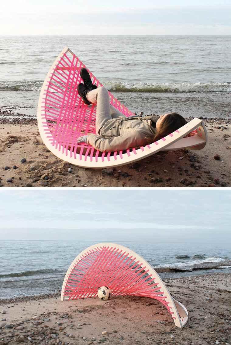 soluciones diseños playa madera