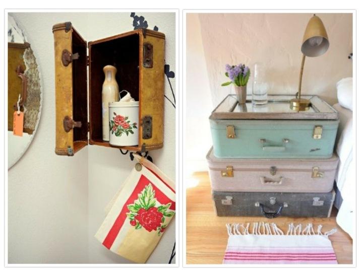 soluciones maletas vintage recicladas