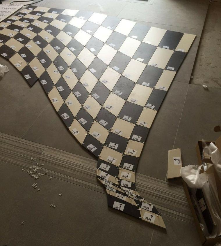 azulejos numerados