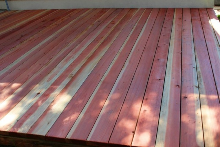 bonita plataforma de madera