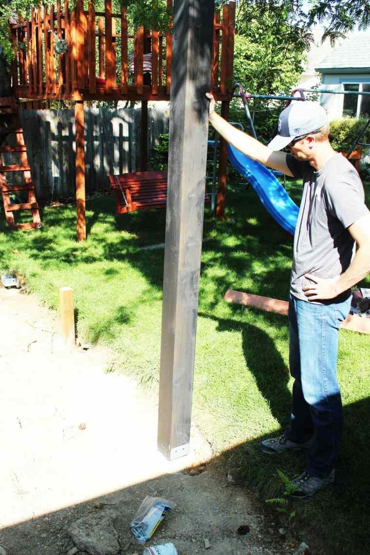 colocar los postes