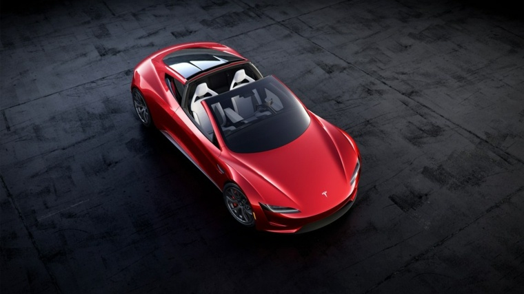 Tesla Roadster descapotable