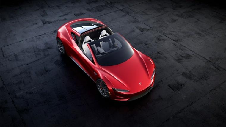 Tesla Roadster descapotable
