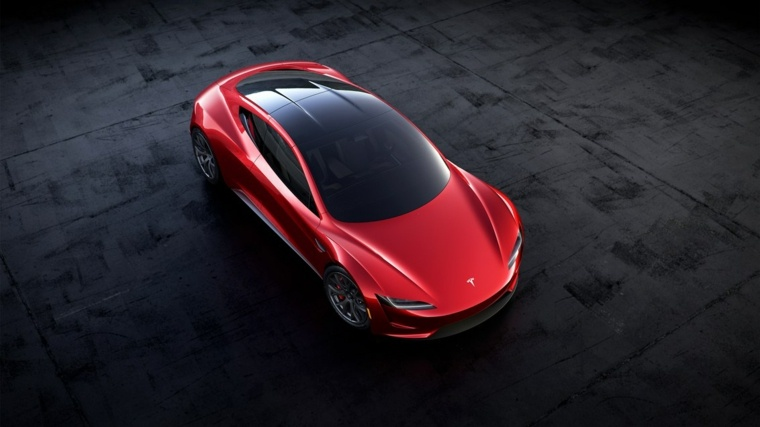 Tesla Roadster mejorado