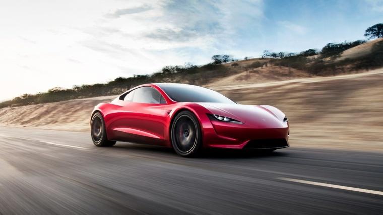 Tesla Roadster diseño