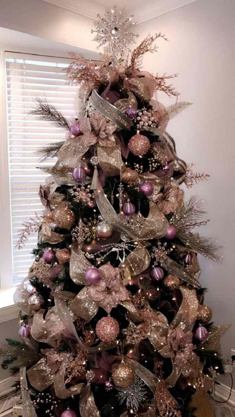 originales ideas de decoración para el árbol de Navidad
