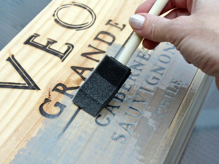 tratamiento madera efecto vintage