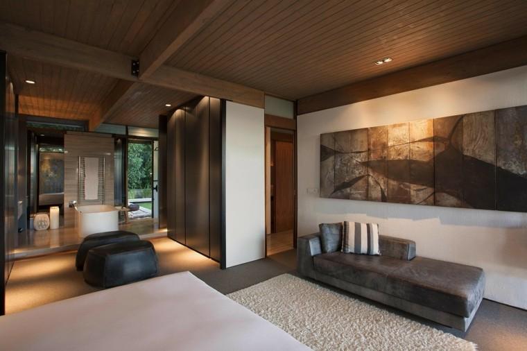 villas de lujo dormitorio-bano