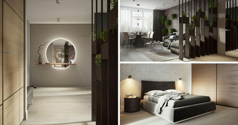 diseño de apartamento moderno en Moscú