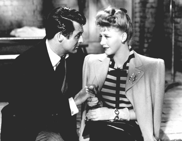 Ginger Rogers y Cary Grant