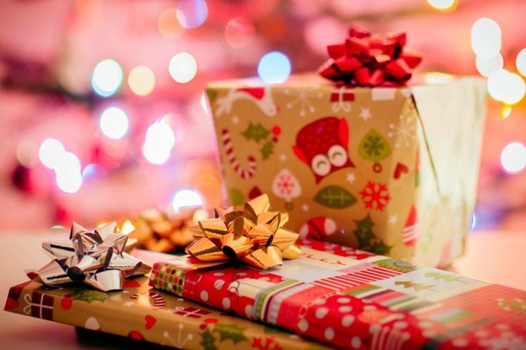 Envolver regalos de forma original-Navidad