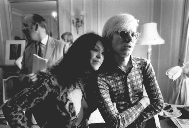 Andy Warhol y Gerri Miller
