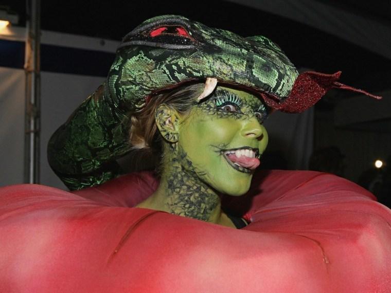 Heidi-Klum-serpiente