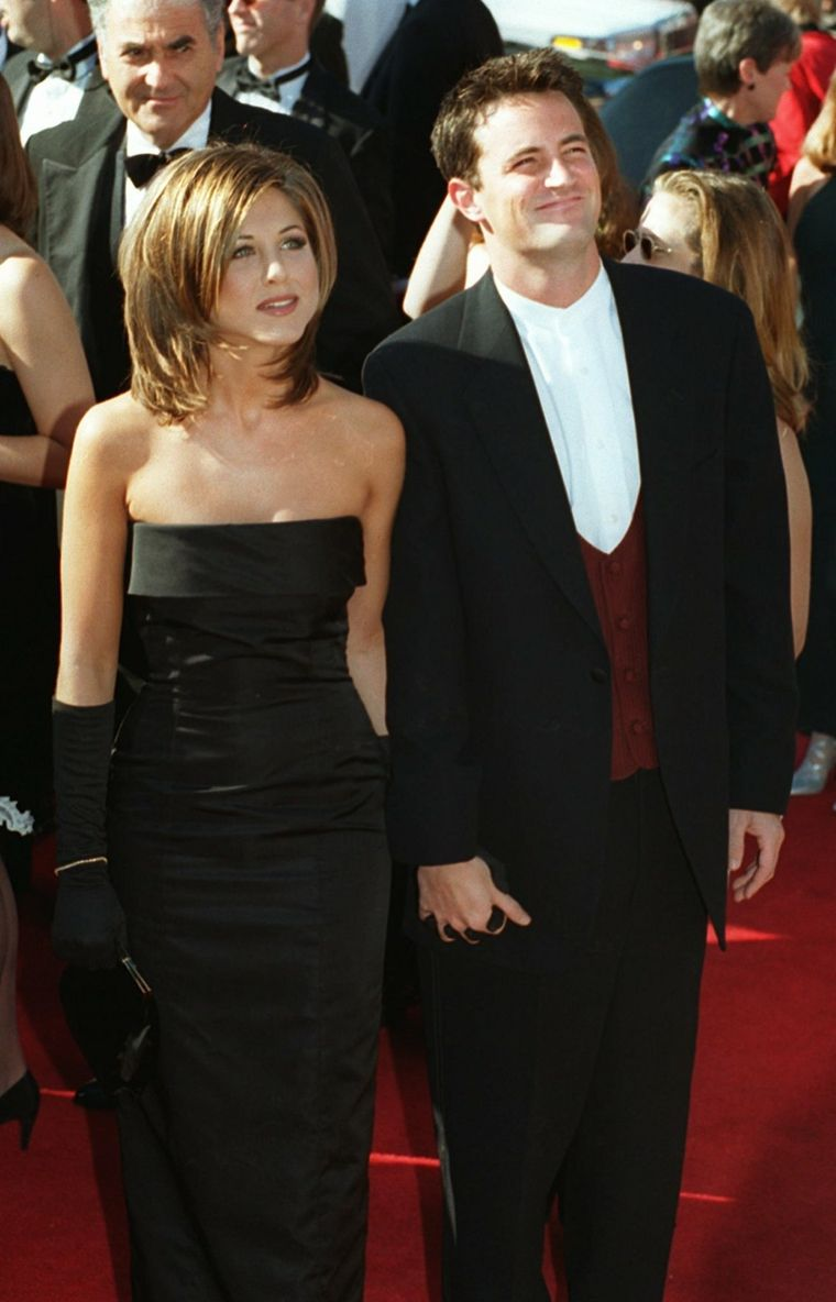 Jennifer Aniston y Matthew Perry