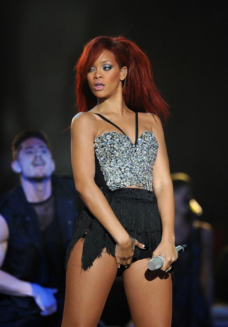 Rihanna escandalosa
