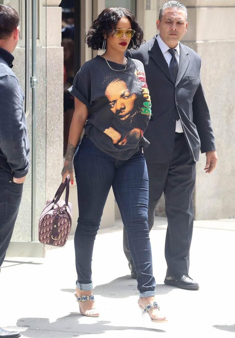 Rihanna estilo-casual