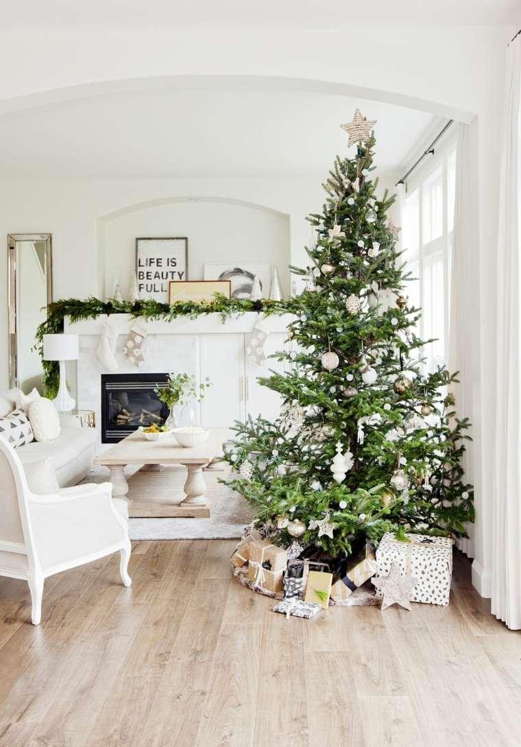 árboles de navidad decorados-detalles-simples