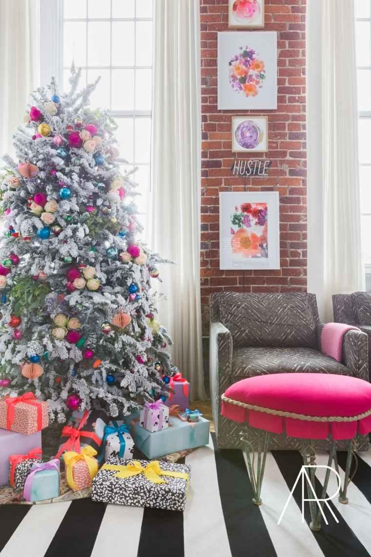 arboles-de-navidad-decorados-ideas-originales