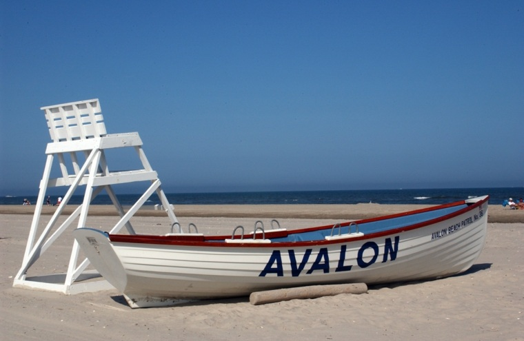 playa de Avalon Beach