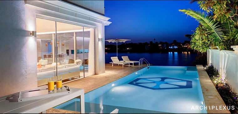 bella vista piscina patio