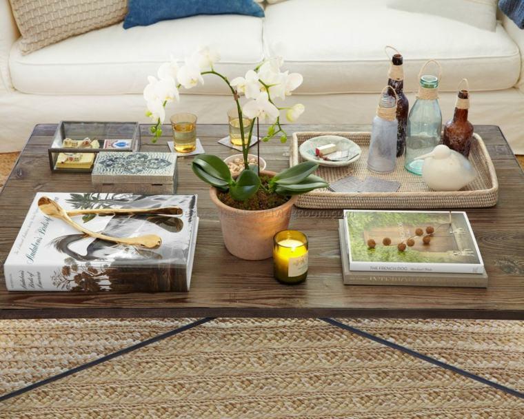 estupendas ideas para decorar la mesa del salón